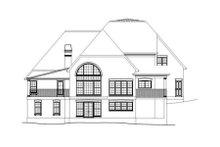 House Plan Design - European Exterior - Rear Elevation Plan #119-351