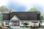 Traditional Style House Plan - 3 Beds 2 Baths 1535 Sq/Ft Plan #929-57