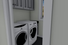Home Plan - Ranch Interior - Laundry Plan #1060-5