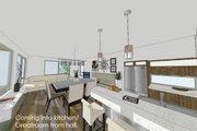 Modern Style House Plan - 3 Beds 3.5 Baths 1990 Sq/Ft Plan #484-1