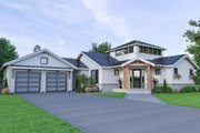 Farmhouse Style House Plan - 4 Beds 3 Baths 1871 Sq/Ft Plan #1070-74 Exterior - Front Elevation