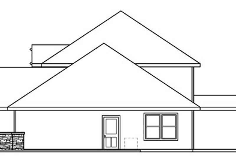 Craftsman Exterior - Other Elevation Plan #124-712 - Houseplans.com