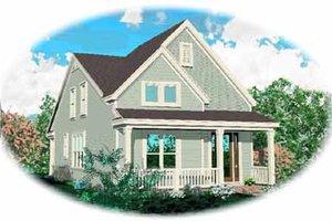 Farmhouse Exterior - Front Elevation Plan #81-133