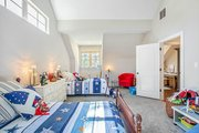 Craftsman Style House Plan - 5 Beds 5.5 Baths 4501 Sq/Ft Plan #17-2444 Interior - Bedroom