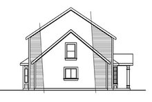 Dream House Plan - Colonial Exterior - Other Elevation Plan #124-715
