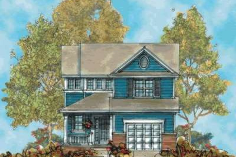 Home Plan - Traditional Exterior - Front Elevation Plan #20-1688