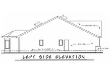Bungalow Exterior - Other Elevation Plan #20-1606