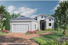 House Plan Design - Ranch Exterior - Front Elevation Plan #930-525