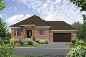 Contemporary Exterior - Front Elevation Plan #25-4597
