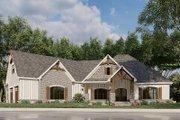European Style House Plan - 3 Beds 2 Baths 2085 Sq/Ft Plan #923-180