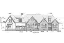 House Plan Design - Traditional Exterior - Front Elevation Plan #1071-20