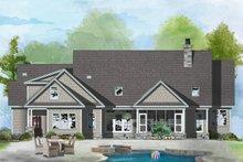 Ranch Exterior - Rear Elevation Plan #929-1059