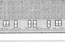 Traditional Exterior - Rear Elevation Plan #20-393