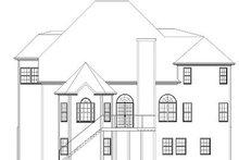 Dream House Plan - European Exterior - Rear Elevation Plan #119-263