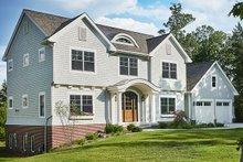 Colonial Exterior - Front Elevation Plan #928-289