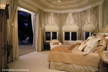Mediterranean Interior - Master Bedroom Plan #930-192