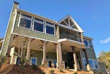 Craftsman Exterior - Rear Elevation Plan #437-85