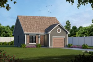 Traditional Exterior - Front Elevation Plan #20-1698