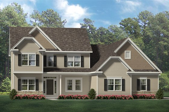 Traditional Exterior - Front Elevation Plan #1010-206