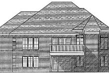 Dream House Plan - European Exterior - Rear Elevation Plan #70-442