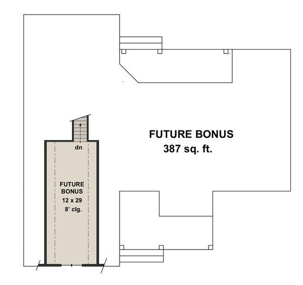 Farmhouse Style House Plan - 3 Beds 2.5 Baths 2148 Sq/Ft Plan #51-1142 Floor Plan - Other Floor Plan