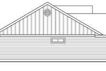 Craftsman Exterior - Other Elevation Plan #124-696