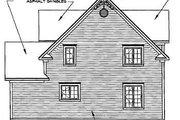Farmhouse Style House Plan - 3 Beds 1.5 Baths 1798 Sq/Ft Plan #23-2170 Exterior - Rear Elevation
