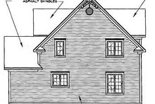 Farmhouse Exterior - Rear Elevation Plan #23-2170