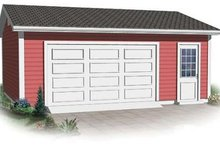 Dream House Plan - Traditional Exterior - Front Elevation Plan #23-879