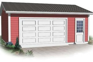 Traditional Exterior - Front Elevation Plan #23-879