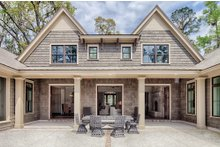 Home Plan - Country Exterior - Rear Elevation Plan #928-1