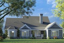 House Plan Design - Farmhouse Exterior - Rear Elevation Plan #923-190