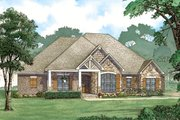 European Style House Plan - 3 Beds 2.5 Baths 2253 Sq/Ft Plan #923-80 Exterior - Front Elevation
