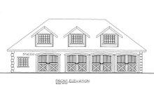 Dream House Plan - European Exterior - Other Elevation Plan #117-614