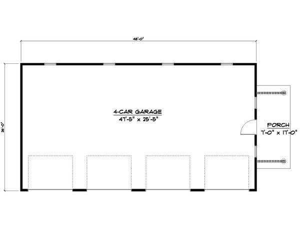 Dream House Plan - Country Floor Plan - Main Floor Plan #1064-76