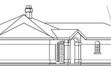 Home Plan - Mediterranean Exterior - Other Elevation Plan #124-430