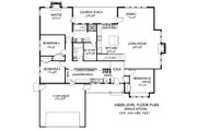 Craftsman Style House Plan - 4 Beds 2.5 Baths 2091 Sq/Ft Plan #133-109 Floor Plan - Other Floor Plan