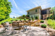 Ranch Exterior - Outdoor Living Plan #70-1502