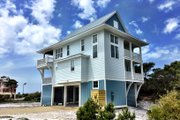 Beach Style House Plan - 4 Beds 2.5 Baths 2593 Sq/Ft Plan #901-118 Photo
