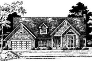 Traditional Exterior - Front Elevation Plan #328-114