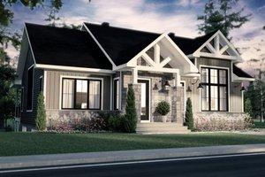 Home Plan - Farmhouse Exterior - Front Elevation Plan #23-2741