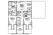 Bungalow Style House Plan - 4 Beds 2.5 Baths 2761 Sq/Ft Plan #419-298 Floor Plan - Upper Floor Plan