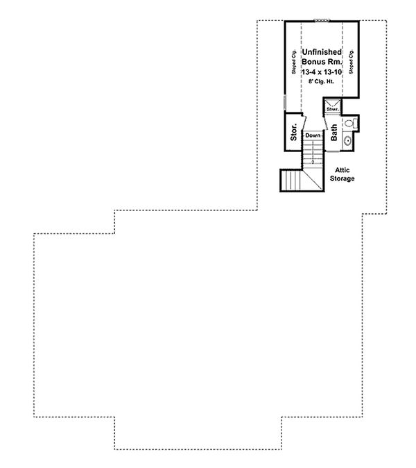 Southern Floor Plan - Other Floor Plan Plan #21-264