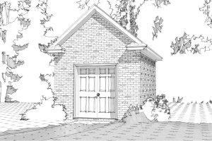 Traditional Exterior - Front Elevation Plan #63-329