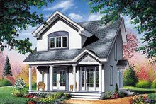Home Plan - Farmhouse Exterior - Front Elevation Plan #23-2094