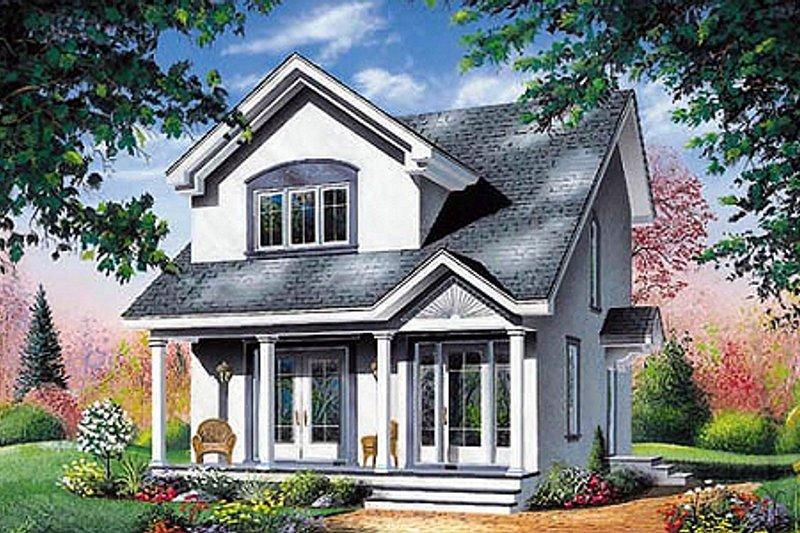 Home Plan - Farmhouse Exterior - Front Elevation Plan #23-2094