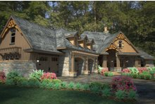 House Plan Design - Craftsman Exterior - Other Elevation Plan #120-191