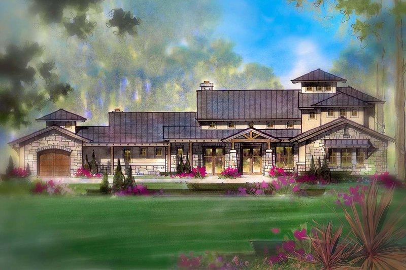 Craftsman Exterior - Front Elevation Plan #935-11 - Houseplans.com