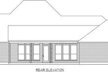 Dream House Plan - Farmhouse Exterior - Rear Elevation Plan #1074-18