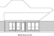 Architectural House Design - Farmhouse Exterior - Rear Elevation Plan #1074-18